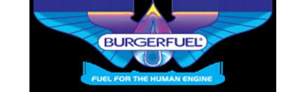 The brand logo of BurgerFuel New Zealand.