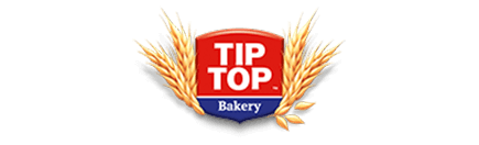 The brand logo of Tip Top® Bakery.